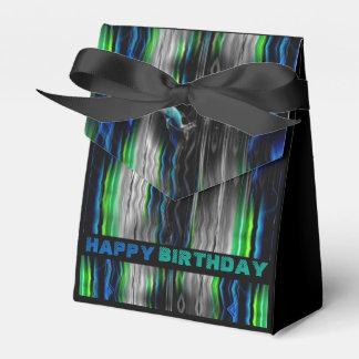 Flüssiges Erschütterungs-Delphin-Neon Geschenkschachtel