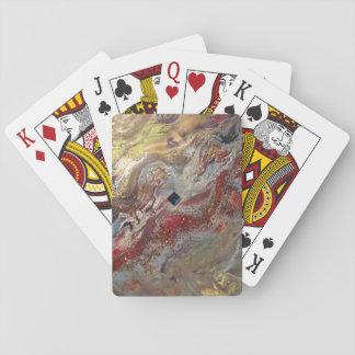 Flüssiges Gold Kartendeck