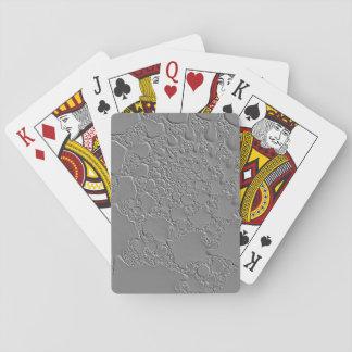 Flüssigstahl-Entwurf Spielkarten
