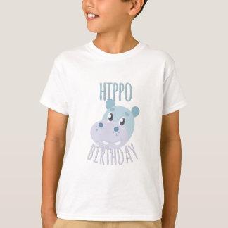 Flusspferd-Geburtstag T-Shirt