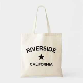 Flussufer Kalifornien Budget Stoffbeutel