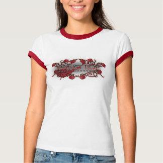 Flut-Titel-Wecker-T-Stück T-Shirt