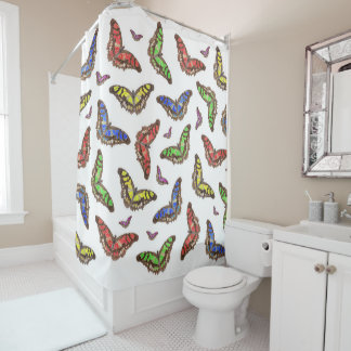 Flutterbys Duschvorhang