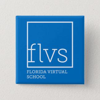 FLVS Knopf Quadratischer Button 5,1 Cm