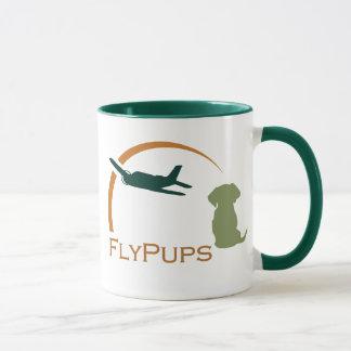 FlyPups betonte Kaffee-Tasse Tasse
