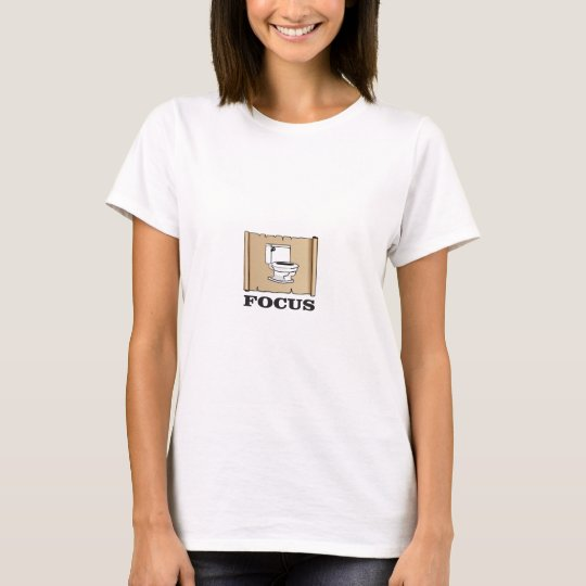 Fokus auf dem Topf T-Shirt