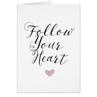 Folgen Sie Ihrem Herzen Karte