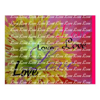 Folgen Sie Ihrem Herzen Postkarte