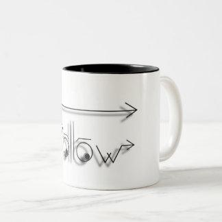Folgen Sie Ihrem Traum! Zweifarbige Tasse