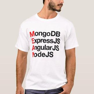 Folgende waagerecht ausgerichtete volle T-Shirt