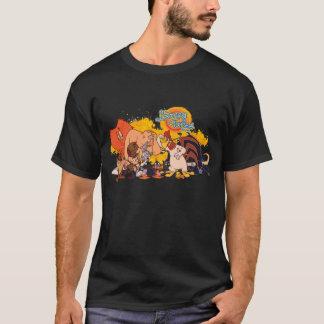 Fonte Looney et logo d'exposition d'airs T-shirt