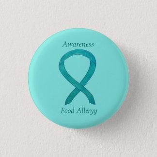 Food Allergy Awareness Green Ribbon Custom Art Pin Runder Button 3,2 Cm