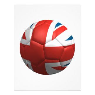 Football britannique prospectus 21,6 cm x 24,94 cm