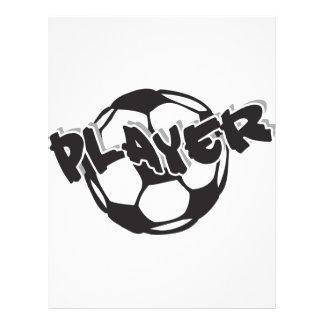 Footballeur Prospectus Avec Motif