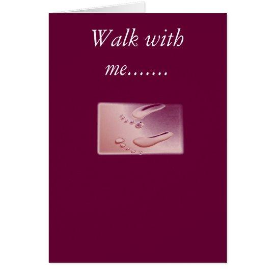 footprints2, Weg mit mir ....... Karte