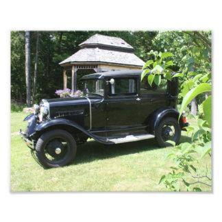 Ford 1930 Tudor Photographischer Druck