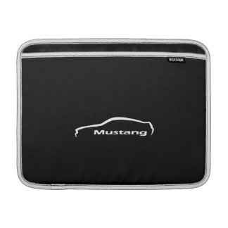 Ford-Mustang-Silhouette-Logo Macbook Luft-Hülse MacBook Sleeve