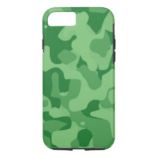 Forest Green starker Camoflauge iPhone 7 Fall iPhone 8/7 Hülle
