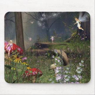 Forêt de féerie tapis de souris