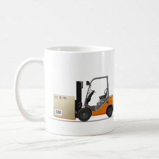 Fork-lift truck kaffeetasse