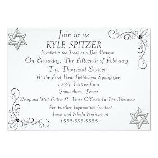 Formale Bar Mitzvah Einladung