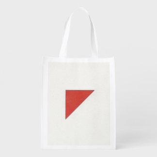 Formen und Farbe Wiederverwendbare Einkaufstasche