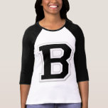 Formulieren Sie es der Raglan schwarzen der Frauen T-Shirts