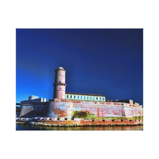 Fort Heilig-Jean, Marseille Leinwanddruck