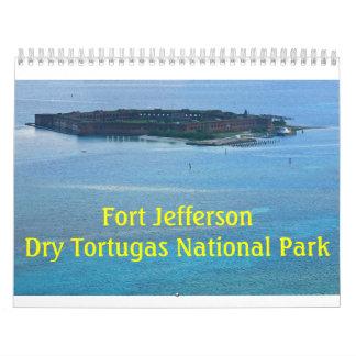 Fort-Jefferson-Kalender 2018 Wandkalender