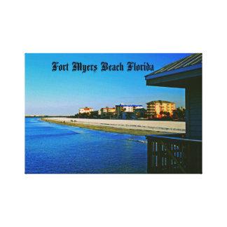 Fort- Myersstrand Leinwanddruck