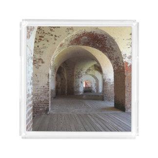 Fort Pulaski Hall Acryl Tablett