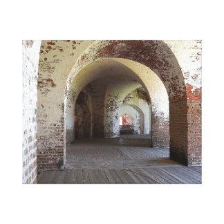 Fort Pulaski Hall Leinwanddruck