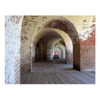 Fort Pulaski Hall Postkarte