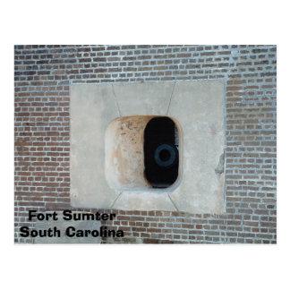 Fort Sumter Postkarte