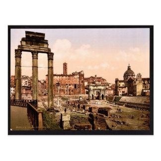 Forum Boario, Rom, Italien Vintages Photochrom Postkarte