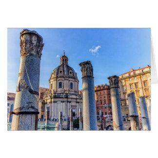 Forum Romanum, Rom, Italien Grußkarte