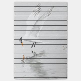 Fosters Seeschwalbe im Flug Post-it Klebezettel