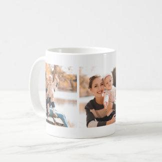 Foto-Collagen-Tasse des Klassiker-drei Kaffeetasse