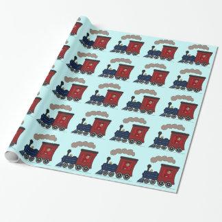 Foto-Dampf-Zug Choo Choo Verpackungs-Papier Einpackpapier