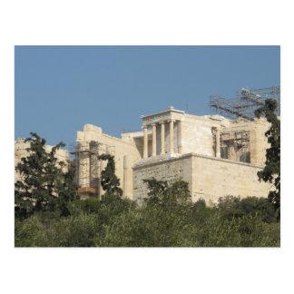 Foto des alter Grieche-Parthenons von fern Postkarte