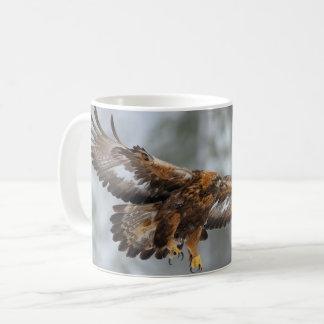 Foto des goldenen Adlers Kaffeetasse