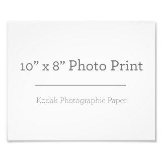 Foto-Druck der Gewohnheits-10 x 8 Photo Druck