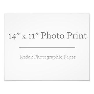 Foto-Druck der Gewohnheits-14 x 11 Fotodruck