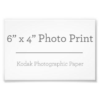 Foto-Druck der Gewohnheits-6 x 4 Kunst Fotos