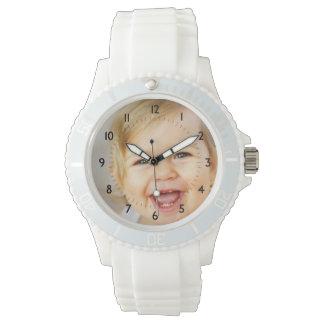 Foto-Erinnerungens-kundenspezifische Uhr
