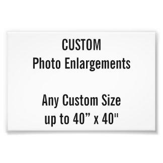 Foto-Erweiterung der Gewohnheits-100x100mm bis zu Fotodruck