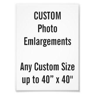 Foto-Erweiterung der Gewohnheits-130x180mm bis zu Fotodruck