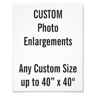 Foto-Erweiterung der Gewohnheits-200x250mm bis zu Photographie