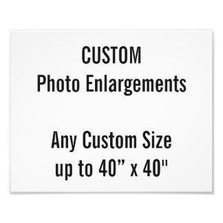 Foto-Erweiterung der Gewohnheits-300x240mm bis zu Fotodruck