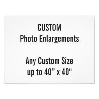 Foto-Erweiterung der Gewohnheits-40x30cm bis zu Fotodruck